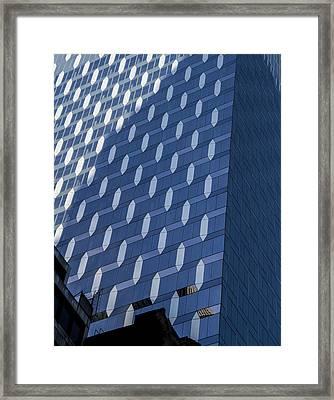 Ny Design Framed Print by Jean Noren