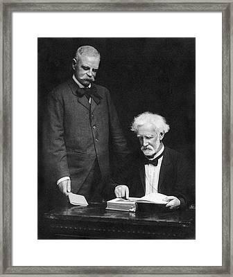 Ny Jurist John W. Goff Framed Print by Underwood Archives