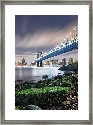 Framed Print featuring the photograph Ny Ny by Anthony Fields