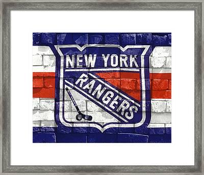 Ny Rangers-2 Framed Print