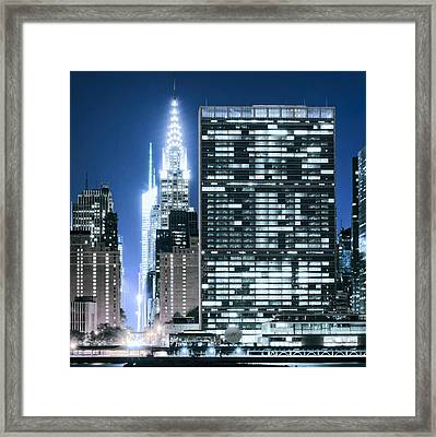 Framed Print featuring the photograph Ny Sights by Theodore Jones