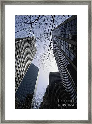 Nyc 2 Framed Print by Bob Stone