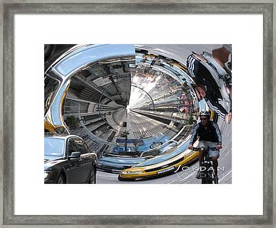 Canyons Of Nyc Framed Print by David Jordan
