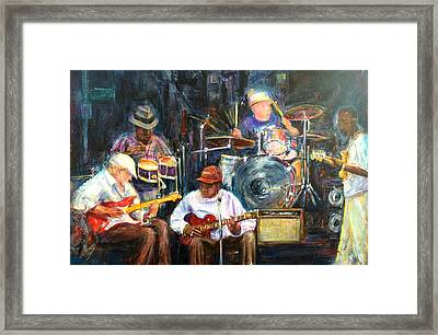 Nyc Blues Framed Print