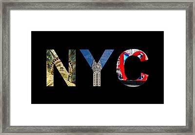 Nyc  Framed Print by Celestial Images