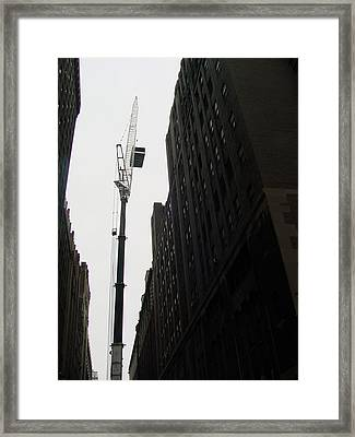 Nyc Constraction Framed Print