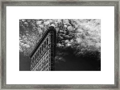 Nyc, Flatiron Framed Print