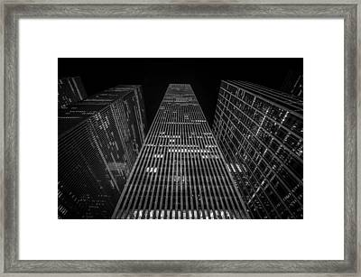 Nyc Forefront Framed Print