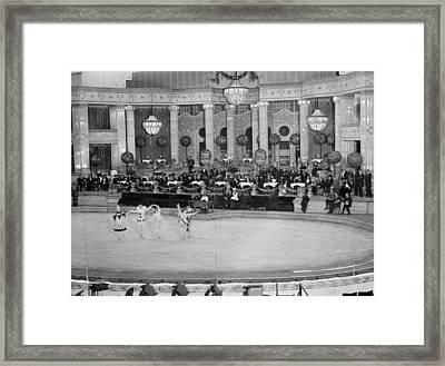 Nyc, Hippodrome Theatre, 1915-20 Framed Print