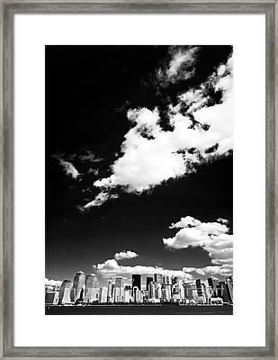 NYC Framed Print by John Rizzuto