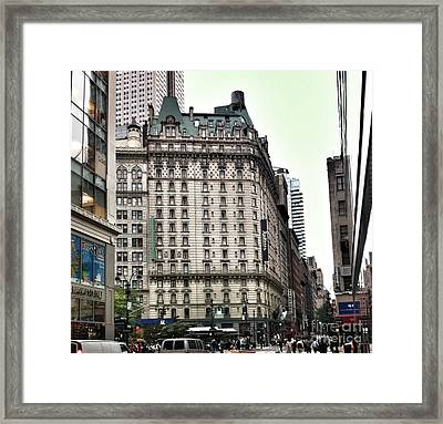 Nyc Radisson Hotel Framed Print