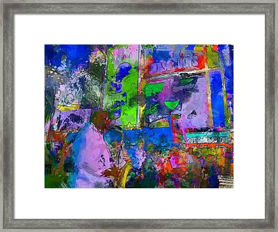 Nyc Sacs Player Framed Print