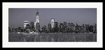 Bluesky Digital Art Framed Prints
