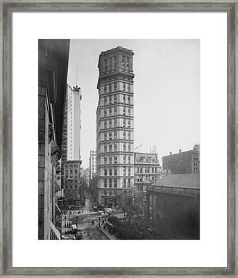 Nyc, St. Paul Building, 1901 Framed Print