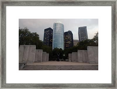 Nyc Vietnam Memorial Framed Print