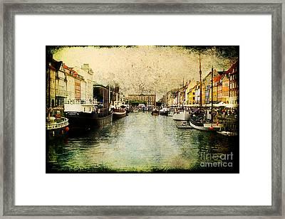 Nyhavn Framed Print by Joan McCool