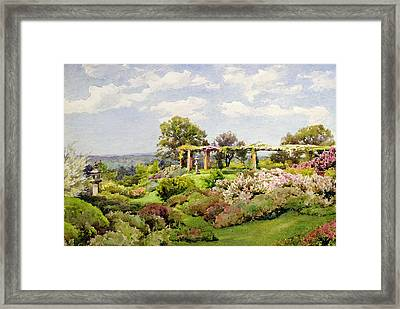 Nymans Sussex Framed Print by Alfred Parsons