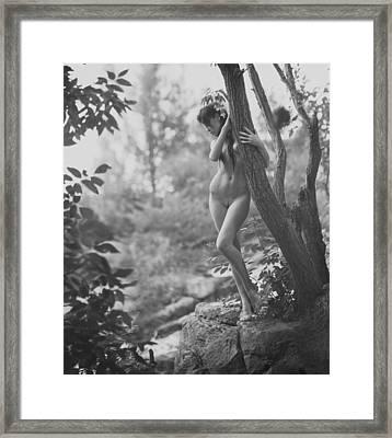Nymph Framed Print by Alexander Pereverzov