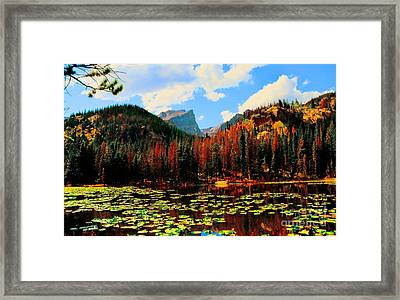 Nymph Lake Framed Print by Kathleen Struckle