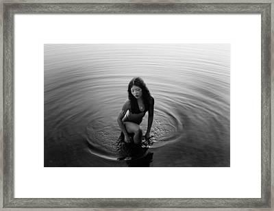 Nymph Framed Print by Mayumi Yoshimaru