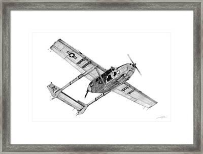 O-2a Oscar Deuce Framed Print by Dale Jackson