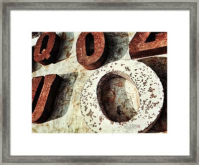 O And Co. Framed Print by Olivier Calas