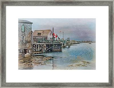 O Canada Framed Print by Nikolyn McDonald