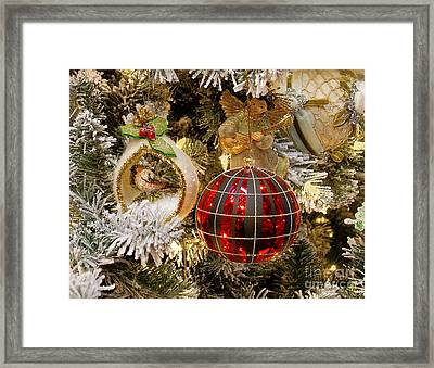 Framed Print featuring the photograph O Christmas Tree by Victoria Harrington