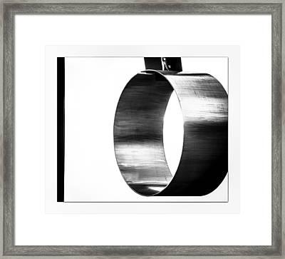 O Framed Print by Darryl Dalton