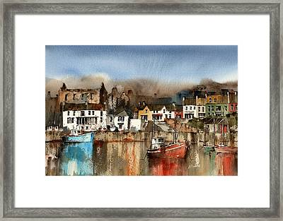 O Driscolls Castle Baltimore Cork Framed Print
