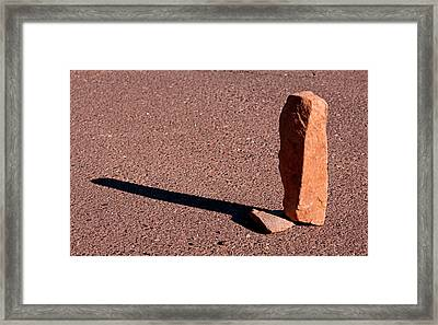 O G Is A Stone 2013 Framed Print by James Warren