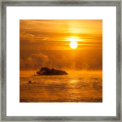 O Happy Day Framed Print by Davorin Mance
