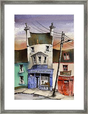 O Heagrain Pub Viewed 115737 Times Framed Print
