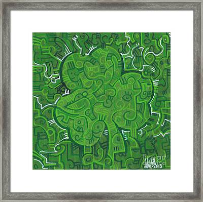 O' Lucky Framed Print by Michael Ciccotello