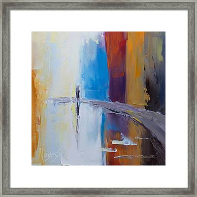 O Master Let Me Walk With Thee Framed Print by Mike Moyers