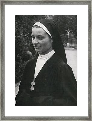 O More White Bonnets For French Nuns Framed Print by Retro Images Archive
