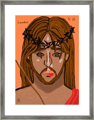 O Nymphios Framed Print by Anita Dale Livaditis