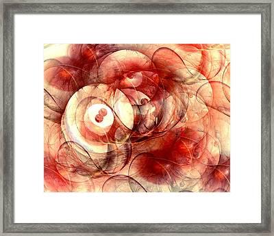 O Positive Framed Print
