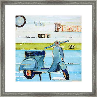 O' The Places You'll Go Framed Print