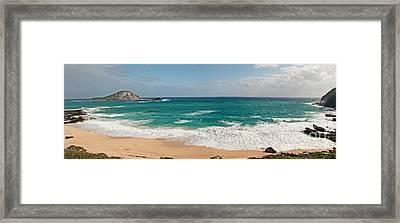 Oahu Panorama Framed Print by Jim Chamberlain