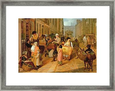 Oak Apple Day, 1812 Framed Print by Charles Cranmer