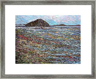 Oak Bay - Low Tide Framed Print