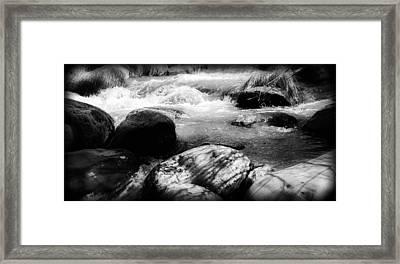 Oak Creek Canyon Framed Print