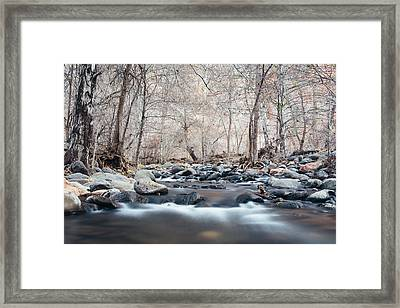 Oak Creek Framed Print by Cody Payne