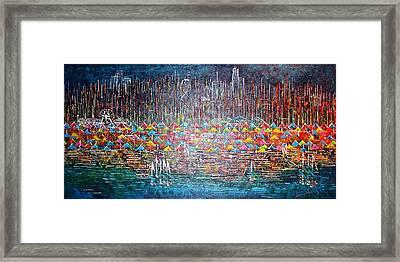 Oak Street Beach Chicago II -sold Framed Print