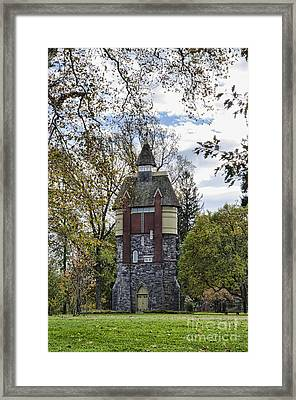 Oakbourne Tower Framed Print