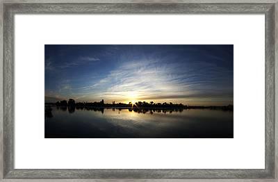 Oakland Coast Guard Island Framed Print