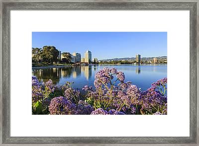Oakland San Francisco Framed Print