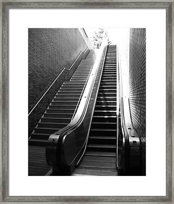 Oakland Station Framed Print by Todd Hartzo
