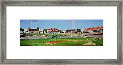 Oakland Framed Print by Thomas  Kolendra
